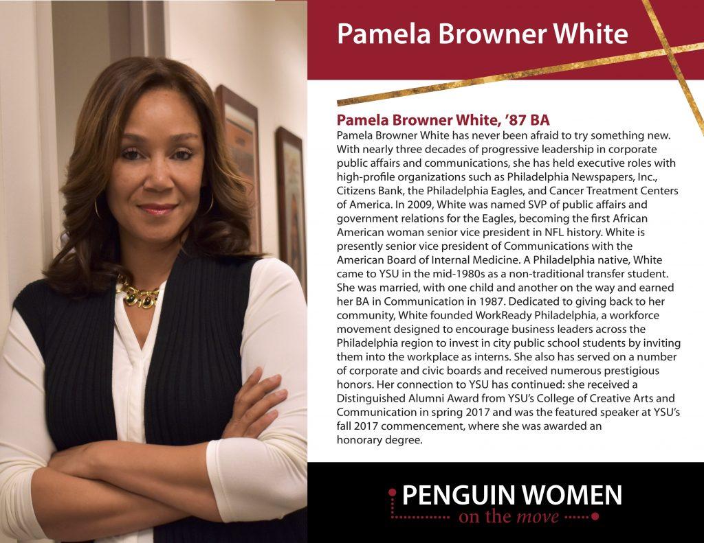 Pamela Browner White