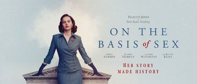Movie promo for On the Basis of Sex