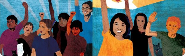 Cover Image from A is for Activist by Innosanto Naga