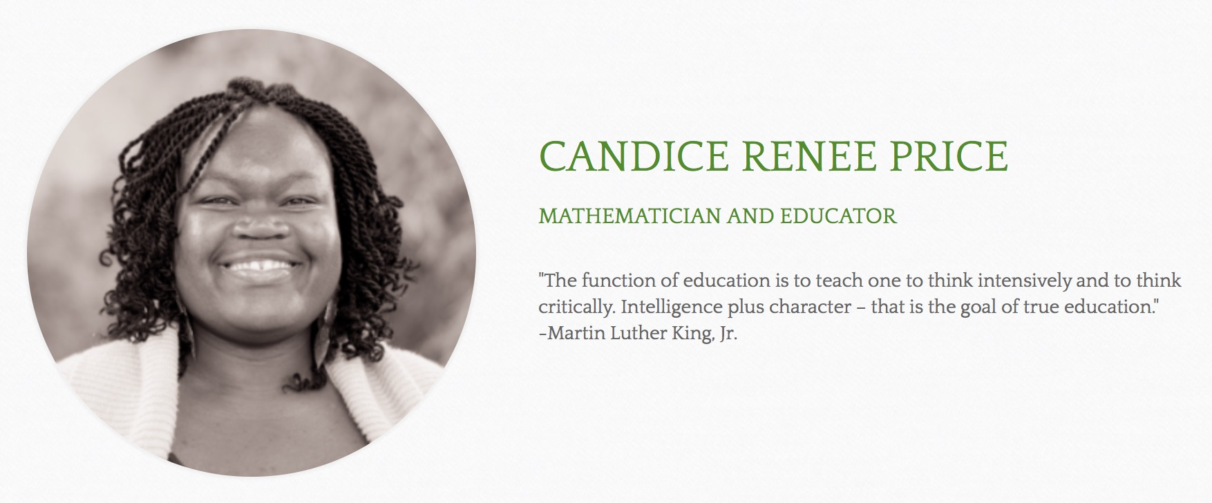 Dr. Candace Price