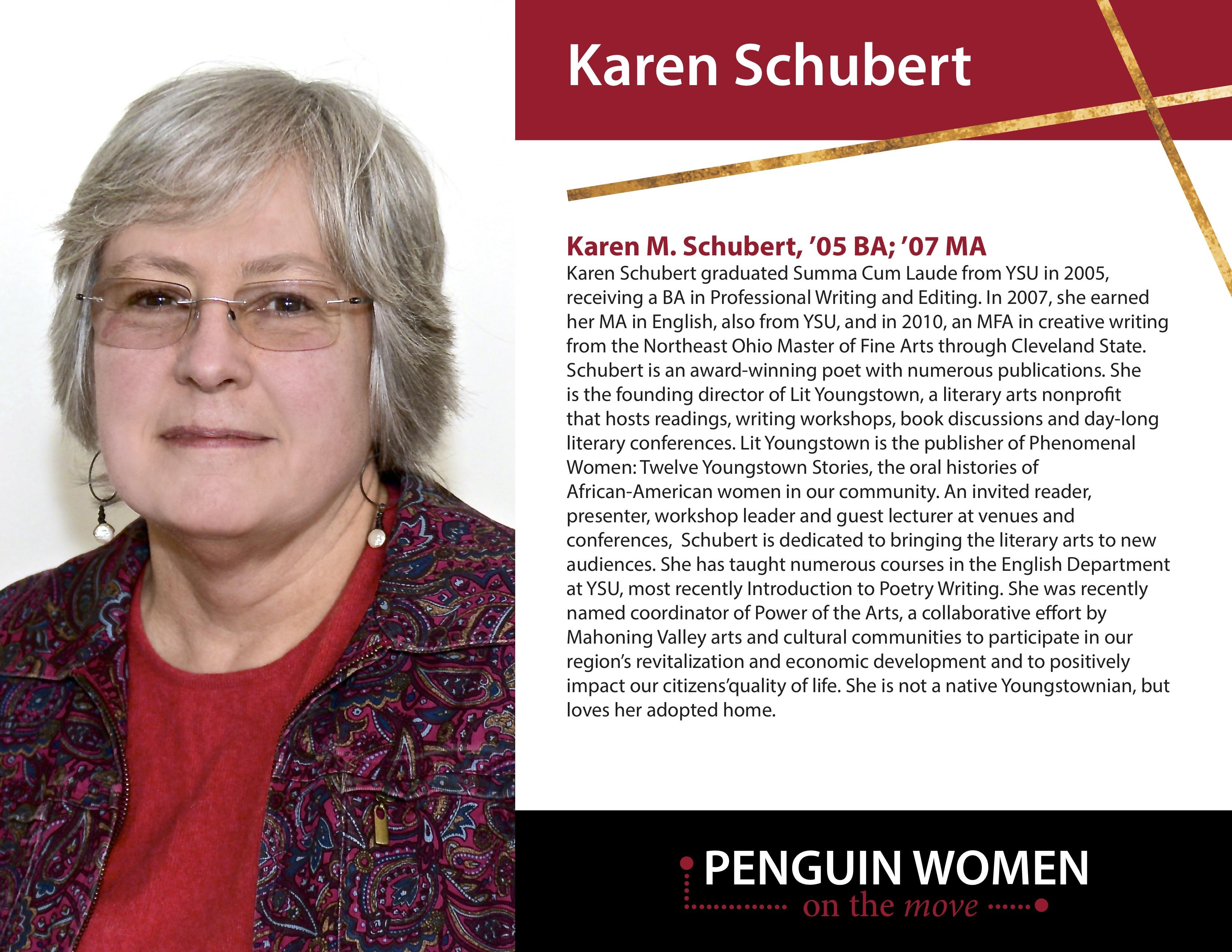 Karen Schubert