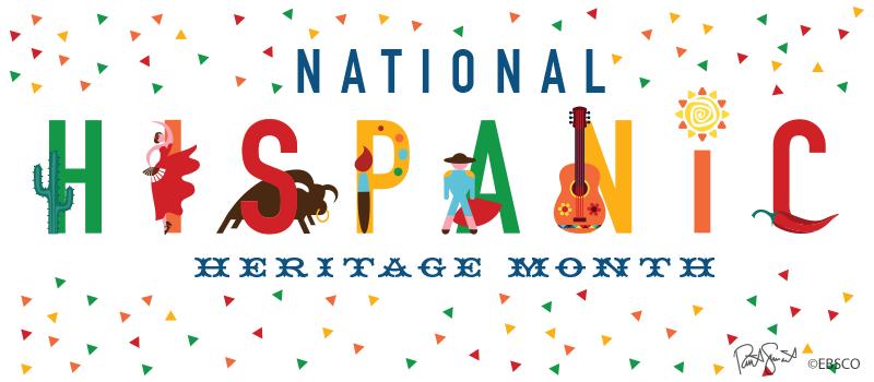 National Hispanic Heritage Month Banner